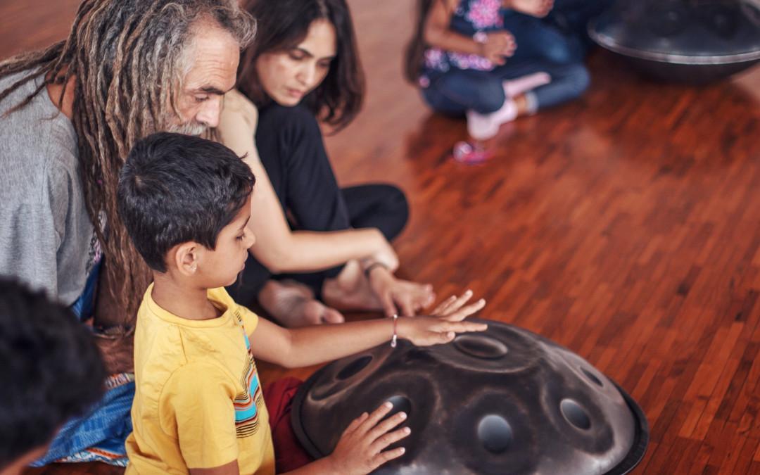 ATELIER PERCUSSIONS ENFANTS – PARENTS, SHOONYA SPACE, BANGALORE, INDIA, 2020